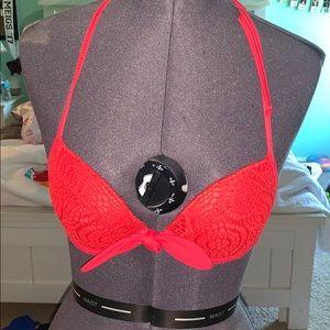 Red Swim Suit Top